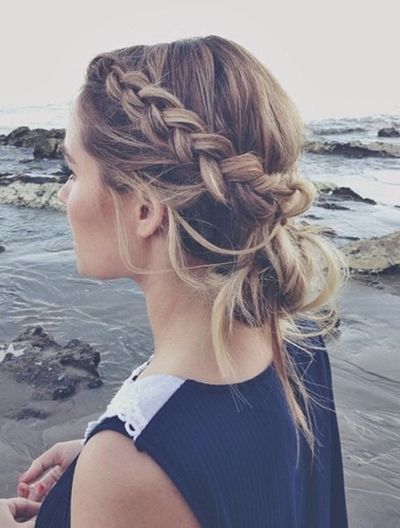 the messy braid