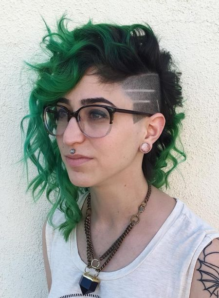 Undercut and green waves