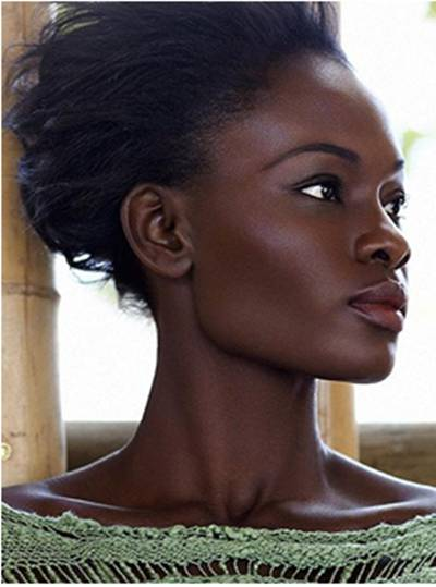 Best hair color for dark brown skin