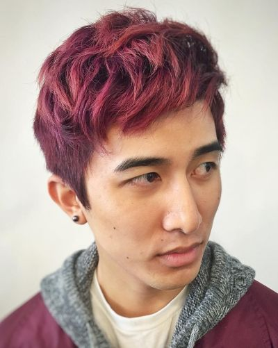 Hair Color For Asian Men 26