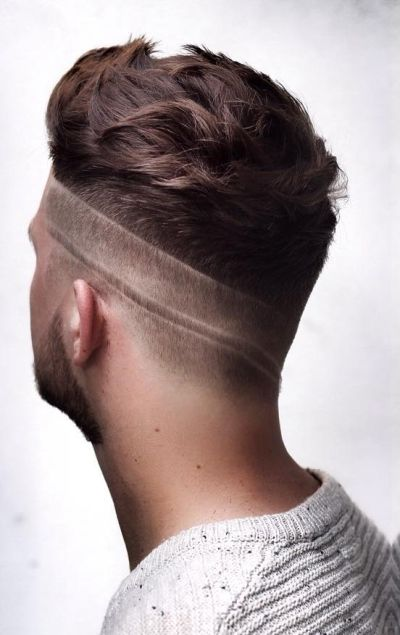 Creative low fades for men