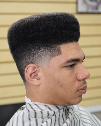 High top with temp fade