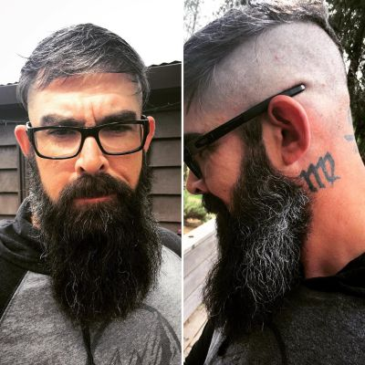Hipster fade haircut