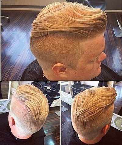 Modern mohawk with undercut