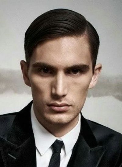 Super neat and sleek combover