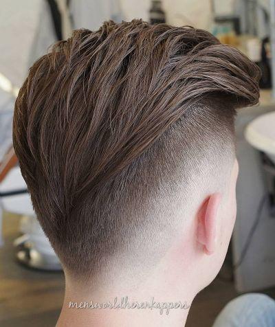 V fade haircut for boys