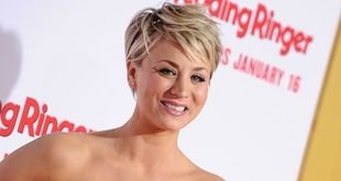 Kaley Cuoco Hairstyles & Haircuts: Short, Layers, Pixie, Bangs & Updos