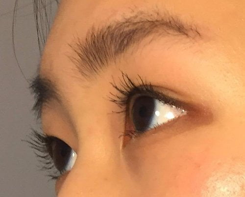 asian mascara kiss me heroine results