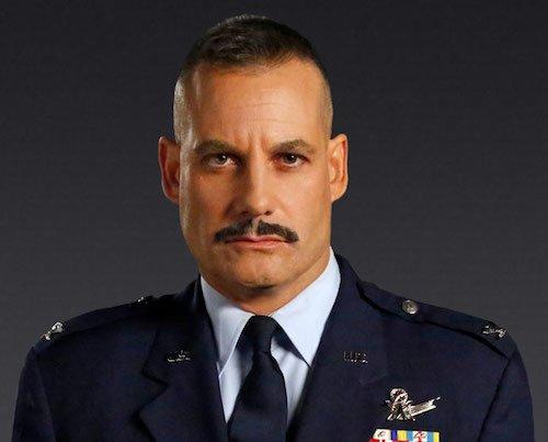 colonel glen talbot mustache
