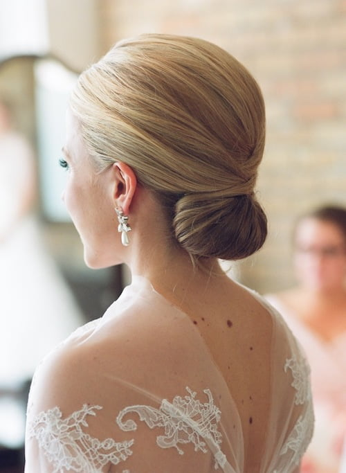 elegant wedding bride updo