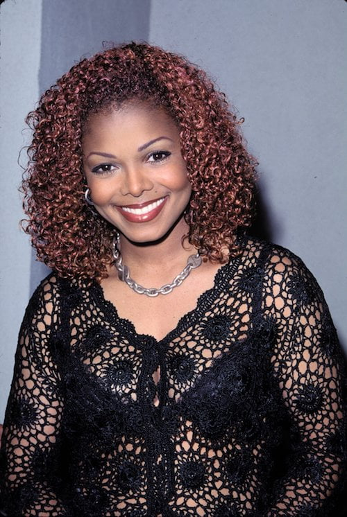 janet jackson red hair