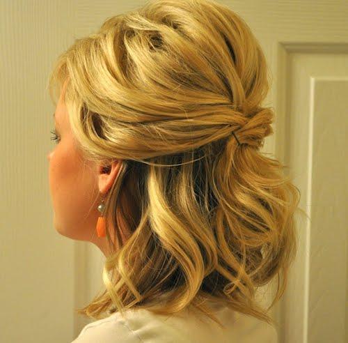 Красивые причёски на волосы средней длины фото