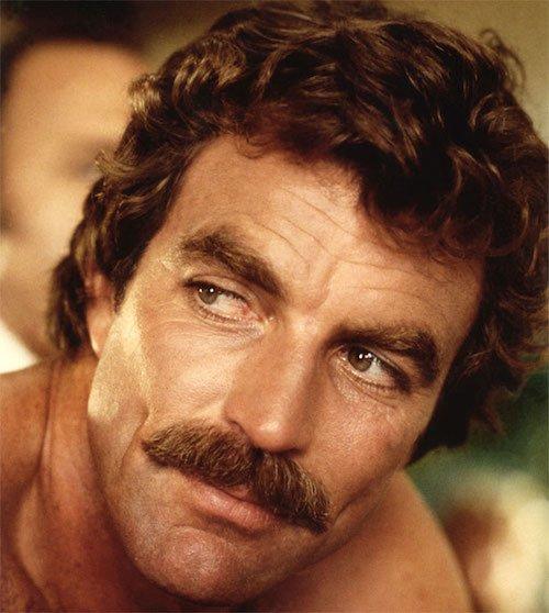 magnum pi mustache