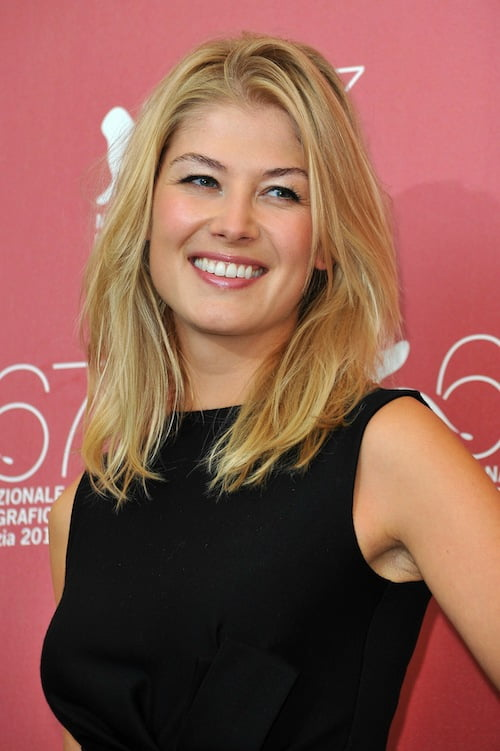 rosamund pike hairstyles 2016