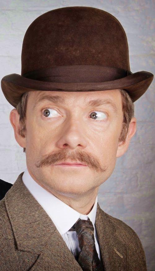 sherlock holmes mustache