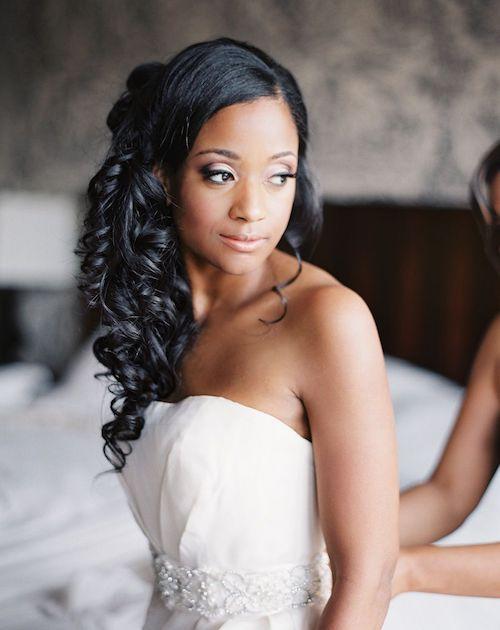 wedding preppy hair