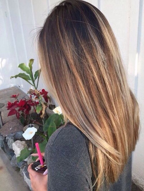 29 Best Balayage Hairstyles for Straight Hair for 2017 - Bob Hairstyles For Fine Hair