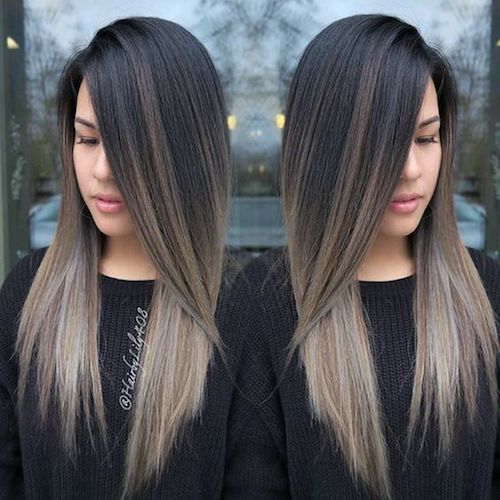 29 Best Balayage Hairstyles For Straight Hair For 2017