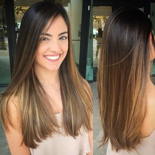 29 Best Balayage Hairstyles For Straight Hair 2017