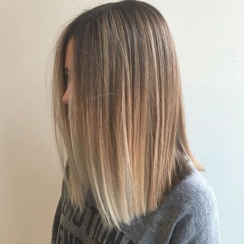 33 Best Balayage Hairstyles For Straight Hair For 2018