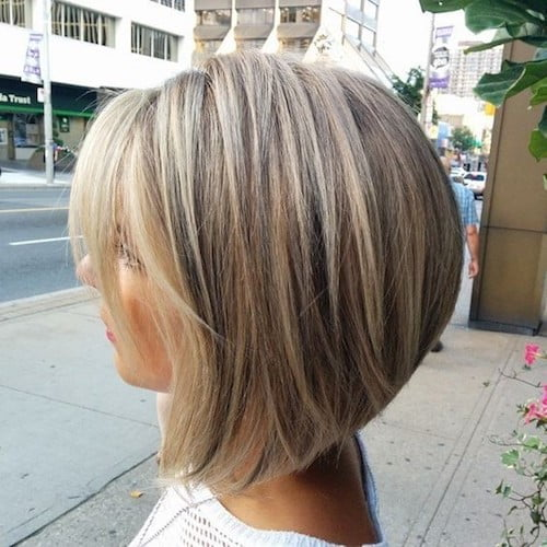 balayage short blonde