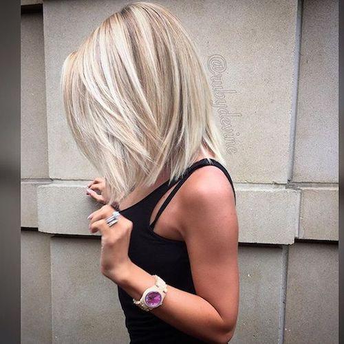 balayage silver blonde hair