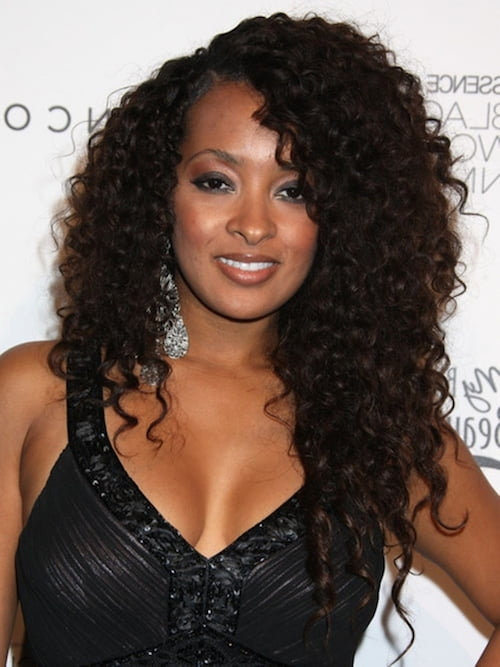black girl curly hairstyle