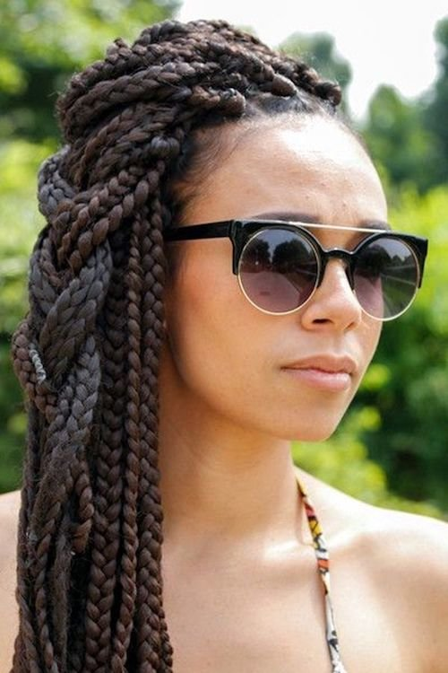 black woman princess braid