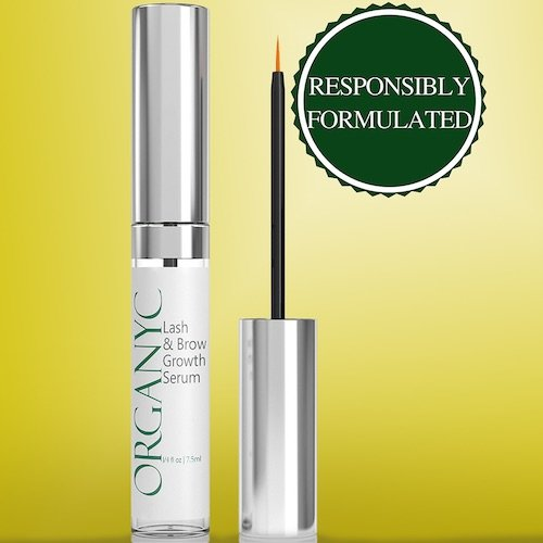 organyc eyebrow serum