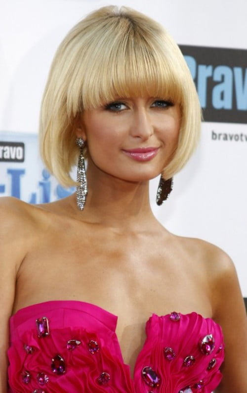 Paris Hilton Hairstyles Updos Wavy Braids Amp Short Haircuts