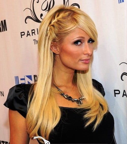 paris hilton braid