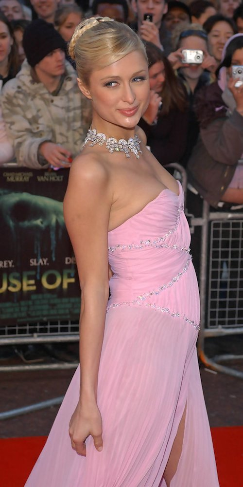 Paris Hilton Hairstyles Updos Wavy Braids Short Haircuts