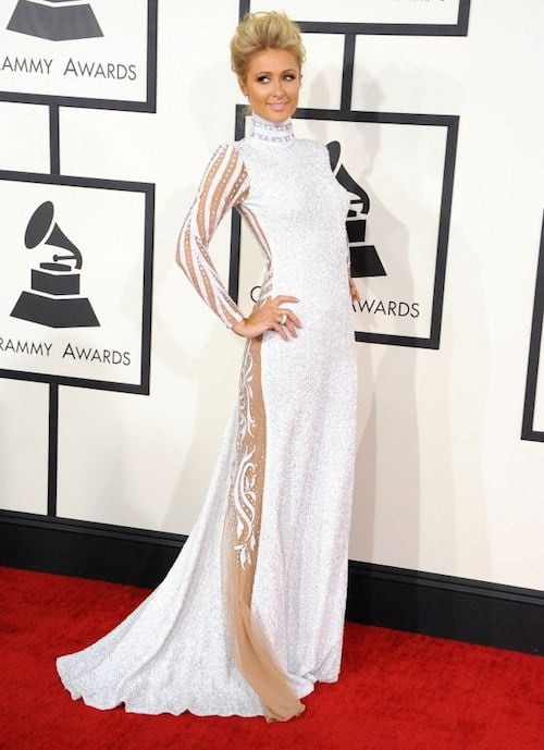 paris hilton grammy awards