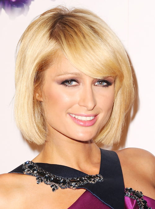 paris hilton medium bob