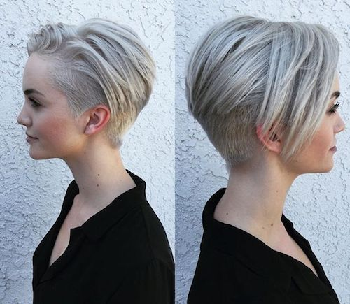 pixie undercut thin hair