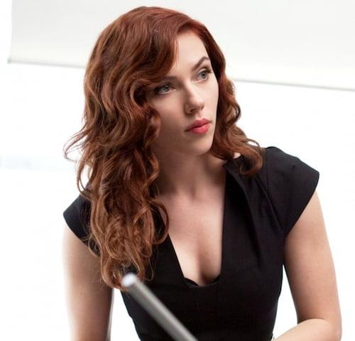 scarlett johansson red curls