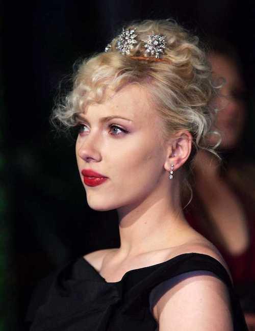 scarlett johansson tiara