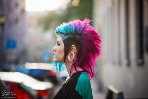 mohawk scenic hair