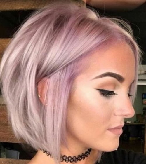 89 of the best hairstyles for fine thin hair for 2017 short pastel blonde bob hairstyle for thin hair urmus Gallery