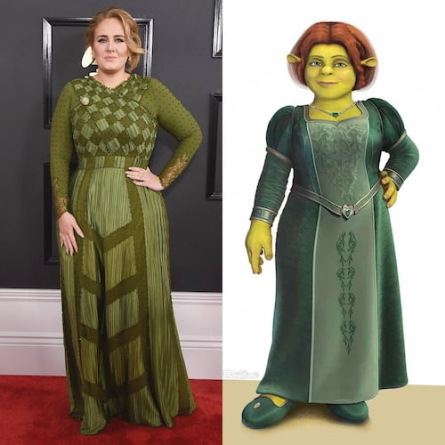 adele fiona look alike