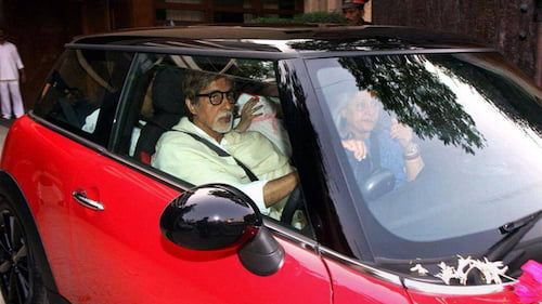 amitabh bachchan cars mini cooper