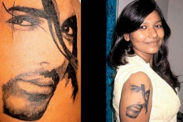 bollywood fan tattoo john abraham