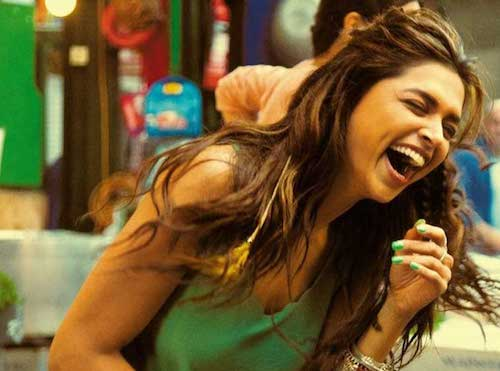 deepika padukone laugh