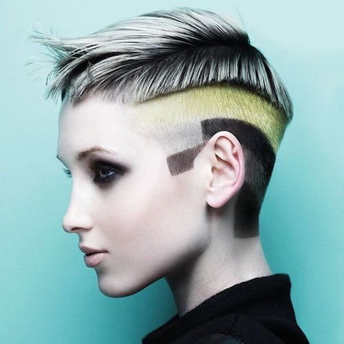 modern graffiti hair