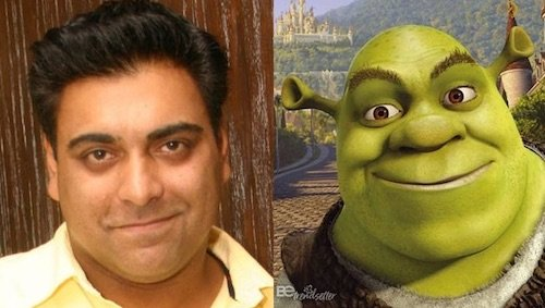 ram kapoor shrek look alike