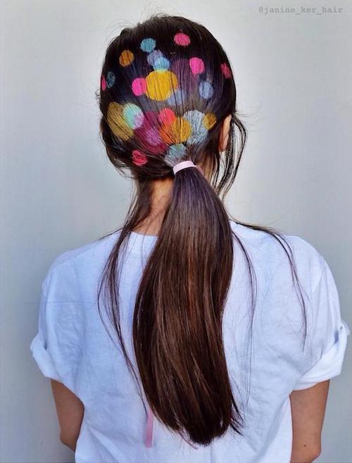 stencil hair