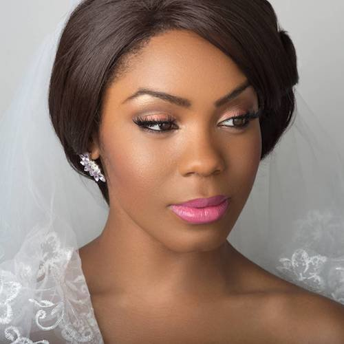 black women wedding hairstyles updo