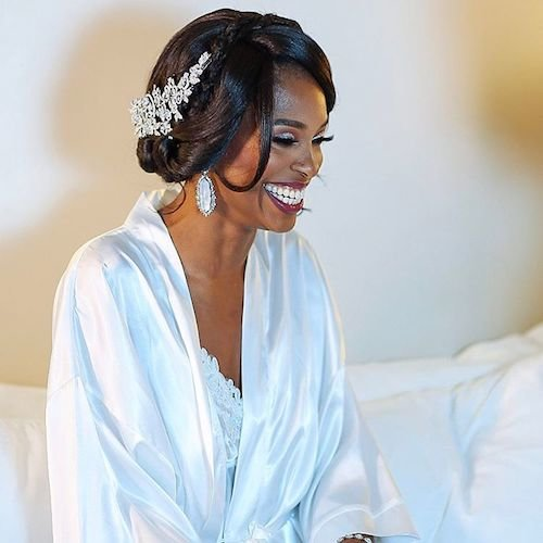 Black Women Wedding Hair Style: 37 Wedding Hairstyles For Black Women To Drool Over 2017