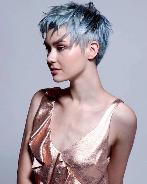 36 Denim Hair Color Ideas To Match Your Jeans In 2017