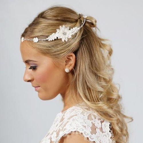 Wedding Hairstyles Instagram: 73 Unique Wedding Hairstyles For Different Necklines 2017
